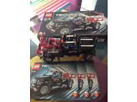 Lego technic pick up truck 9395 build once 100% complete