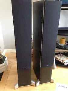 Energy Connoisseur Series C7 Black Tower Speakers