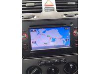 Pioneer car radio sat Nav hands free unit