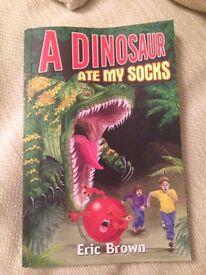 A Dinosaur Ate My Socks Dyslexia Friendly Book