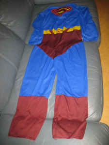 Superman Costume - Size 10 +