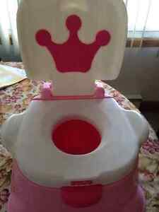 Pot marchepied Princesse / Princess Stepstool Potty-FISHER PRICE