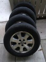 Honda Odyssey Set of Aluminum Rims with Michelin Defenders