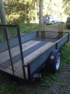 2006 snow bear utility trailer(trade only)