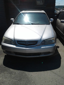 1999 Acura TL Sedan 3.2 Full load.Can not plate,one shot deal.