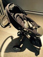 Stokke xplory stroller with maxi cosi adaptor