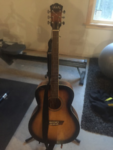 George Washburn Limited Guitar. w/case and stand.