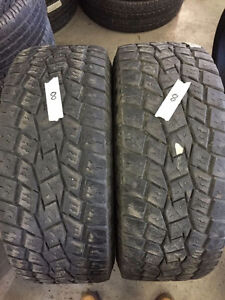 2 Toyo Open Country A/T - LT325/70/17 - 50% - $40 For Both