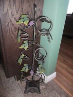 Large beautiful decorative WINE RACK - only $15! (Firm)