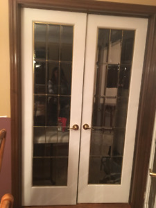 French Doors- Lead Glass (bevelled)