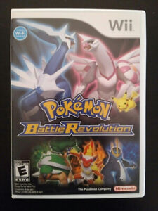 Nintendo Wii Pokemon Battle Revolution