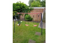 Swings and seesaw