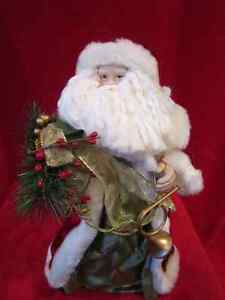 "Father Christmas - Santa Clause Figure 14.5"" Tall with Holiday D Regina Regina Area image 1"