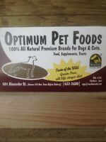 Optimum Pet Products For Sale