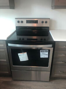Brand New Whirlpool Stainless Steel Stove - Electric Range