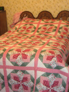 New & Handmade Table cloths, runners, Quilts, Table tops.