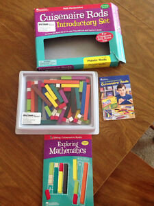 Cuisenaire rod set for mathematics