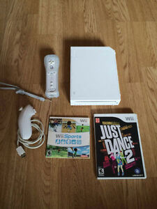 Console Wii + 2 jeux