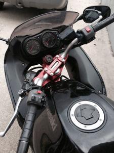 beautiful motorcycle in great shape