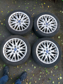 "Ford alloy wheels 17"""