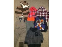Winter boys clothes bundle