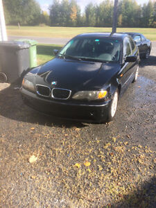 2002 BMW 3-Series Noir Berline (inspection)