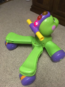 Fisher-Price Go Baby Go Stride-to-Ride Dino Ride On Dinosaur Wal