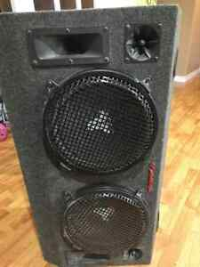 Sub and amp good condition