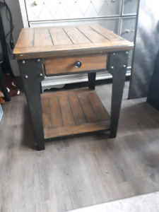 Bar Style Mint Condition never used Side Table for Sale
