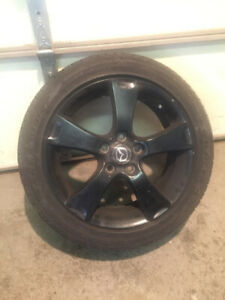 Mazda 3 wheels and tires - set of 4