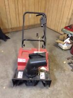 NOMA ELECTRIC SNOWBLOWER 195.00/obo