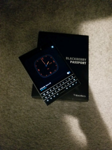 Blackberry Passport For Sale! Unlocked!