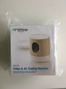 Withings Home Security Camera/Baby Monitor