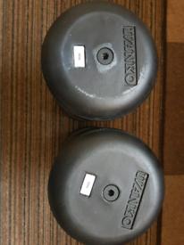 Ivanko 65 kg dumbells!!!