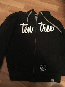 Ten Tree Large zip up hoodie