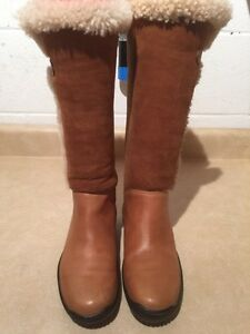 Women's Ralph Lauren Leather Winter Boots Size 6.5 London Ontario image 2
