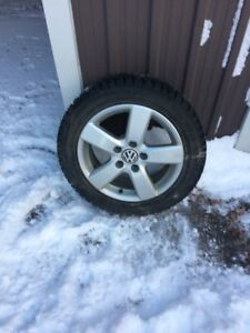 Hankook winter tires and rims
