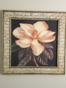 "Sid Dickens - ""Ancient Magnolia"" and ""Ancient Rose"""