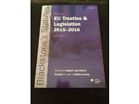 EU Treaties & Legislations 2015-2016