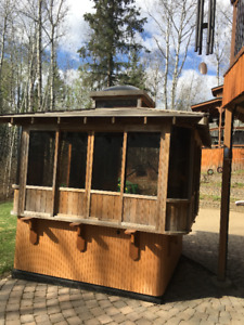 Trade Cedar Hot Tub Gazebo For New Cover & Lift For My Tub