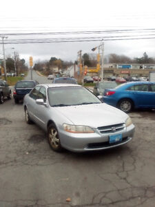 2000 HONDA ACCORD LOADED AUTO 137000KMS!!! ONLY $1949.
