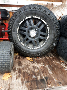 """18 """"Tires and rims"""