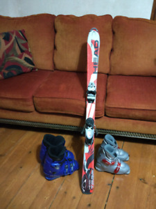 Skis/boots/youth