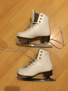 GAM figure skates size 2-boots & boots great cond
