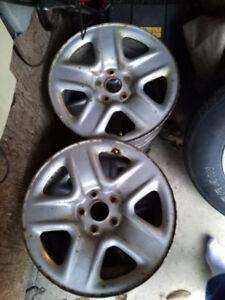 17 inch Toyota Winter Steel rims