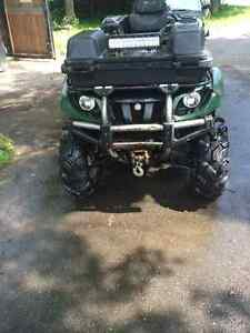 2006 Yamaha grizzly low kms lots of extras