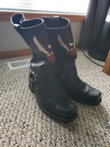 Motorcycle Riding Harley Boots