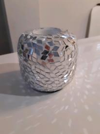 Mosaic t light holders