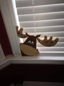 Christmas plywood cutouts, indoor and outdoor. Nanny Poppy Signs St. John's Newfoundland image 9