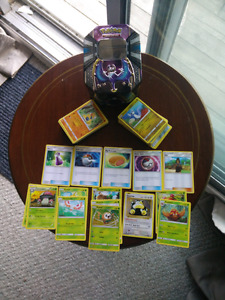 Pokemon Cards- Rowlet and Friends with collectible Tin!